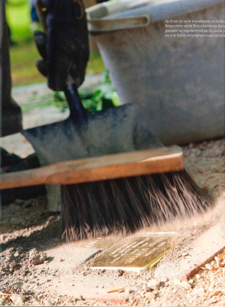 Cleaning struikelstenen